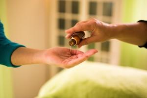 Homöopathisches Mittel: Mittelgabe (Globuli)